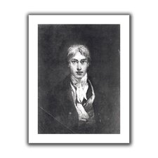 'Self portrait' by William Turner Unwrapped on Canvas