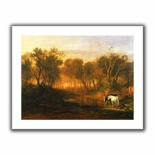'The Forest of Bere' by William Turner Unwrapped on Canvas