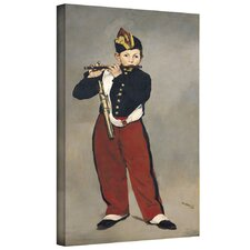 'The Fifer' by Edouard Manet Gallery-Wrapped on Canvas