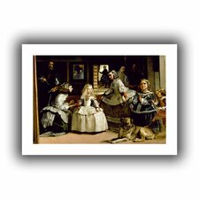 'Las Meninas, detail of the lower half depicting the family of Philip IV of Spain' by Diego Velazquez Unwrapped on Canvas