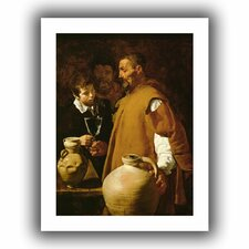 'Waterseller of Seville' by Diego Velazquez Unwrapped on Canvas