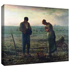 'The Angelus' by Jean Francois Millet Gallery-Wrapped on Canvas