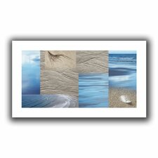 'Sand Sea' by Cora Niele Canvas Poster