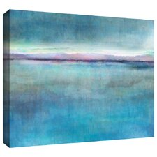 'Landscape Early' by Cora Niele Gallery Wrapped on Canvas