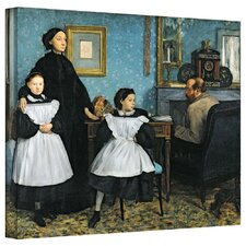 'The Bellelli Family' by Edgar Degas Gallery-Wrapped on Canvas