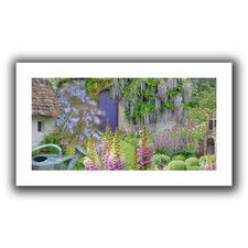 'Cottage Garden' by Cora Niele Canvas Poster