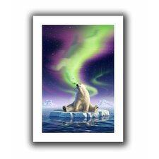 'Artic Kiss' by Jerry Lofaro Canvas Poster