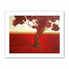 'Ethereal Tree II' by Herb Dickinson Painting Print on Canvas