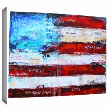 'America' by Jolina Anthony Painting Print Gallery-Wrapped on Canvas