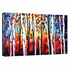 'Autumn' by Jolina Anthony Painting Print Gallery-Wrapped on Canvas