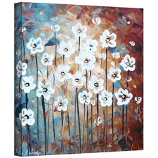 'Spring Blooms' by Jolina Anthony Painting Print Gallery-Wrapped on Canvas