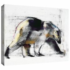 'Ursus Maritimus' by Mark Adlington Painting Print Gallery-Wrapped on Canvas