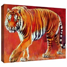 'Bengal Tiger' by Mark Adlington Painting Print Gallery-Wrapped on Canvas