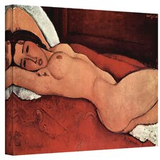 ''Portrait of a Nude'' by Amedeo Modigliani Canvas Painting Print
