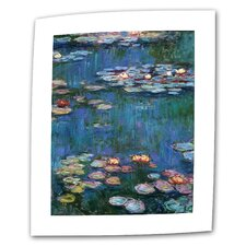 """Water Lilies"" by Claude Monet Painting Print on Canvas"