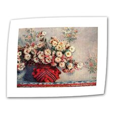 "<strong>Art Wall</strong> Claude Monet ""Red Vase"" Canvas Wall Art"