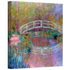 ''Japanese Bridge'' by Claude Monet Painting Print on Canvas