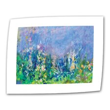 """Lavender Fields"" by Claude Monet Original Painting on Canvas"