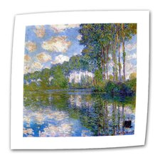 """Trees"" by Claude Monet Painting Print on Canvas"