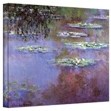 ''Sea Roses II'' by Claude Monet Original Painting Canvas