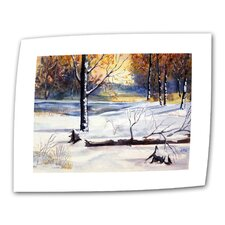 "<strong>Art Wall</strong> Dan McDonnell ""Winter Woods"" Canvas Wall Art"