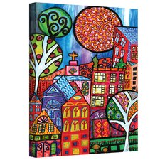 Debra Purcell ''Downtown'' Canvas Art