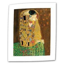 "Gustav Klimt ""The Kiss"" Canvas Wall Art"