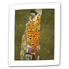 "<strong>Art Wall</strong> Gustav Klimt ""Hope"" Canvas Wall Art"