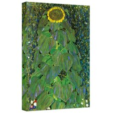 ''The Sunflower'' by Gustav Klimt Painting Print on Canvas