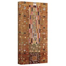 ''Abstract Frieze'' by Gustav Klimt Painting Print on Canvas