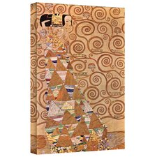 ''Anticipation'' by Gustav Klimt Painting Print on Canvas