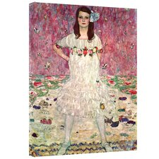 ''Eugenia Primavesi'' by Gustav Klimt Painting Print on Canvas