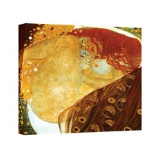 ''Danae'' by Gustav Klimt Canvas Painting Print