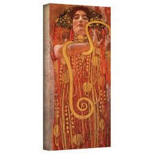 ''Hygieia'' by Gustav Klimt Painting Print on Canvas
