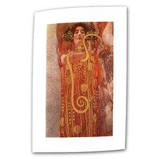 """Hygieia"" by Gustav Klimt Painting Print on Canvas"
