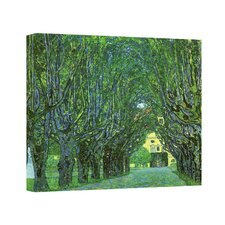 ''Avenue in a Park'' by Gustav Klimt Painting Print on Canvas