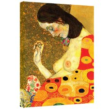 ''Hope II'' by Gustav Klimt Painting Print on Canvas