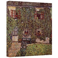 ''House of Guardaboschi'' by Gustav Klimt Painting Print on Canvas