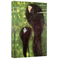 ''Mermaids'' by Gustav Klimt Painting Print on Canvas