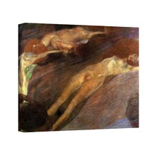 Gustav Klimt ''Moving Water'' Canvas Art