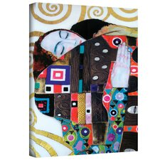 ''Beethoven Frieze'' by Gustav Klimt Painting Print on Canvas