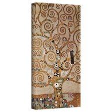 ''Tree of Life'' by Gustav Klimt Painting Print on Canvas
