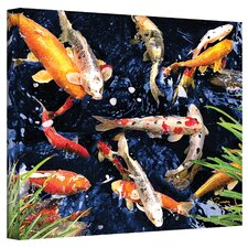 ''Koi'' by George Zucconi Painting Print on Canvas