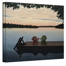 ''Tranquility'' by Ken Kirsch Photographic Print on Canvas