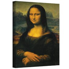 ''Mona Lisa'' by Leonardo Da Vinci Painting Print on Canvas