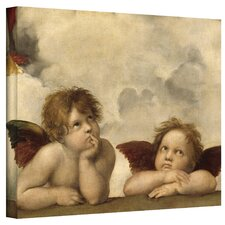 ''Cherubs'' by Raphael Painting Print on Canvas