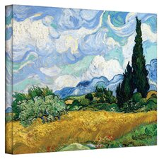 ''Cypress'' by Vincent Van Gogh Painting Print on Canvas