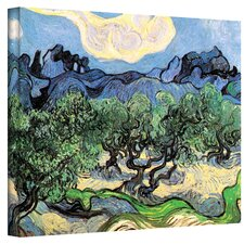 ''Olive Trees'' by Vincent Van Gogh Original Painting on Canvas