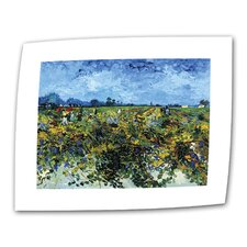 """Green Vineyard"" by Vincent van Gogh Painting Print on Canvas"