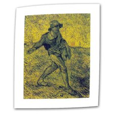 "<strong>Art Wall</strong> Vincent van Gogh ""The Sower"" Canvas Wall Art"